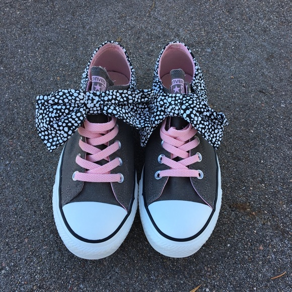 93cd9976e7ab Converse Shoes - Converse Hard To Find No Tie Bow Style